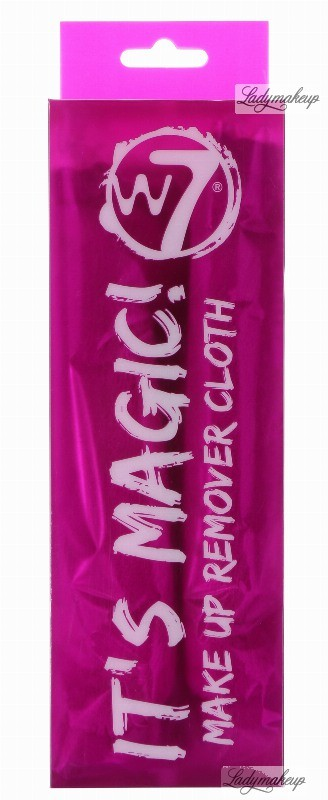 W7 W7 - IT'S MAGIC! - MAKE UP REMOVER CLOTH - Ściereczka wielokrotnego użytku do demakijażu W7MURC