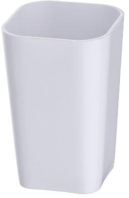 Wenko WENKO 20335233uchwyt na szczoteczki do zębów kubek Candy Whiteszczoteczka do zębów Szczoteczka do zębów i pasta do zębów, polistyren, 7.3x 11x 7.3cm, biały 20335100