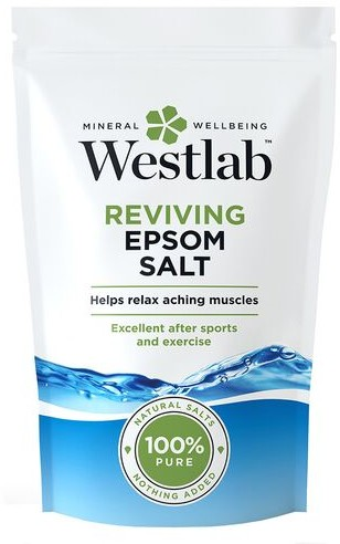 Westlab Sól odświeżająca Epsom Westlab Rozluźnia i odpręża zmęczone mięśnie 1kg