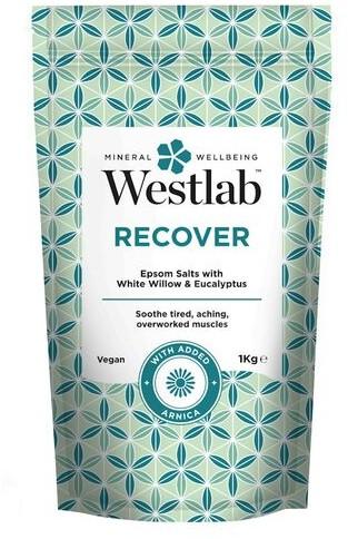 Westlab Sól regenerująca do kąpieli z ekstraktem z białej wierzby i eukaliptusem Westlab Recover 1kg