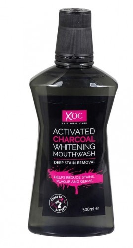 Xpel Xpel Charcoal płyn do płukania jamy ustnej wybielający 500ml