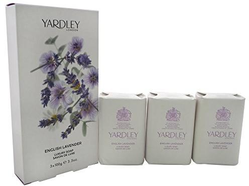 Yardley yardley English Lavender Luxury Soap 3X 100g Y7210047-6