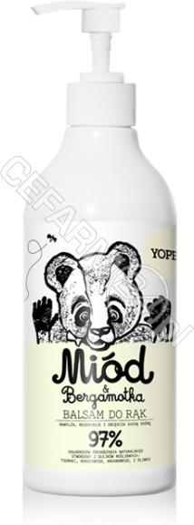 YOPE mydło kuchenne do rąk Miód & Bergamotka 500 ml