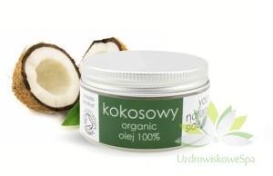 YourNauturalSide Olej kokosowy nierafinowany 100% 100g