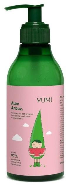 Yumi YUMI Żel pod prysznic ALOE ARBUZ 400ml