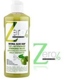 Zero 100% naturalne mydło oliwkowe 500ml ZERO