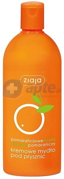 Ziaja Bluebel energia pomarańczy kremowe mydło pod prysznic 500ml