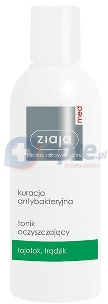 Ziaja MED Antybakteryjny przeciwtrądzikowy tonik oczyszczający 200ml