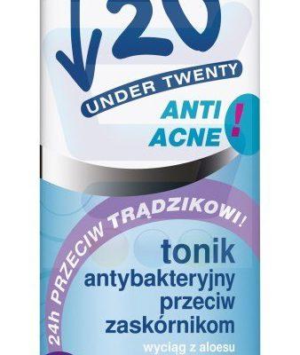 20 Under Twenty 20 Anti Acne Antybakteryjny Tonik 200ml