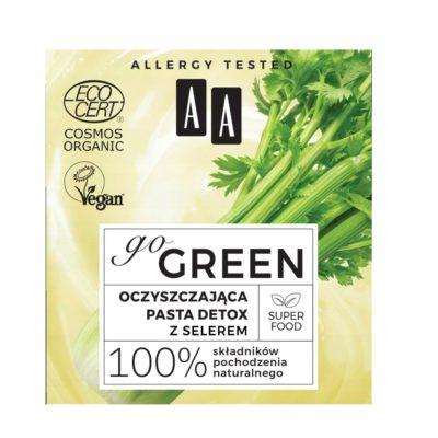 Aa Go Green oczyszczająca pasta detox z selerem