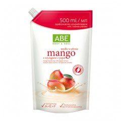 ABE Mydło w płynie o zapachu mango zapas 500ml