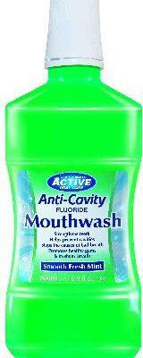 Active Płyn do płukania jamy ustnej Fresh Mint z fluorem 500 ml