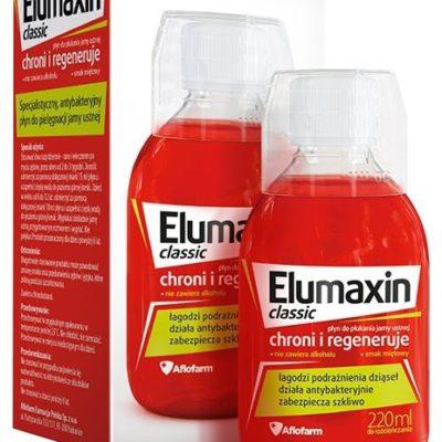 Aflofarm Elumaxin Classic płyn do płukania jamy ustnej 220ml