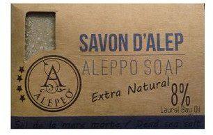 ALEPPO Mydło naturalne 15% Sól z Morza Martwego 100g