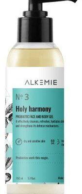 Alkemie Alkemie Holy harmony! Probiotyczny Żel do Mycia Twarzy i Ciała 150ml ALK-1277