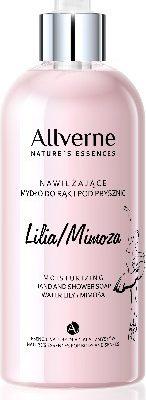 Allverne Natures Essences Mydło do rąk i pod prysznic Lilia-Mimoza 300ml