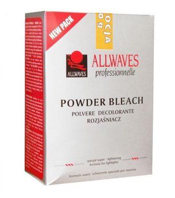 ALLWAVES PROMOCJA Rozjaśniacz do włosów Powder Bleach 1000g (kartonik)