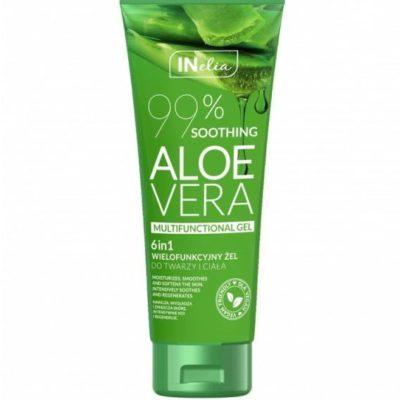 Aloe Vera Inelia GEL - Wielofunkcyjny żel do twarzy i ciała