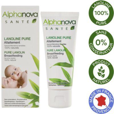 Alphanova Sante Sante, Lanolina, 40 ml 3760075071011
