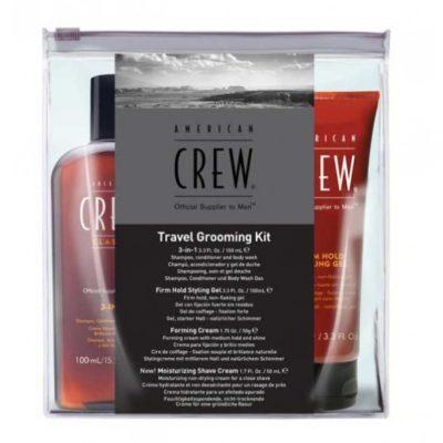 American Crew American Crew Travel Grooming Kit Zestaw podróżny dla mężczyzn SZYBKA WYSYŁKA  infolinia: 690-80-80-88