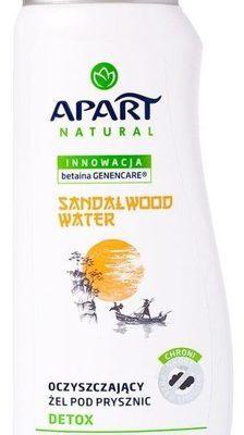 Apart Natural Detox oczyszczający żel pod prysznic Sandalwood Water 350ml
