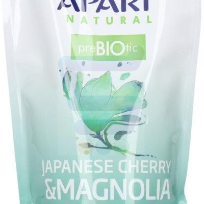 Apart Natural Prebiotic Mydło do rąk w płynie Japanese Cherry & Magnolia zapas 400 ml