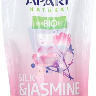 Apart Natural Prebiotic Mydło do rąk w płynie Silk & Jasmine zapas 400 ml