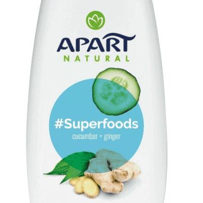 Apart SUPERFOODS ŻEL POD PRYSZNIC 300ML OGÓREK I IMBIR
