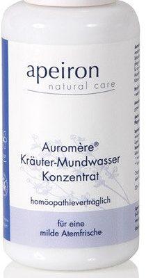 Apeiron AUROMRE Ziołowy płyn do płukania jamy ustnej homeopatyczny bez fluoru 247/917515