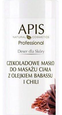 APIS APIS DESER DLA SKÓRY - Czekoladowe masło do masażu ciała z olejem z baobabu i chilii 500 m