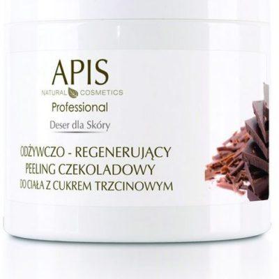 Apis DESER DLA SKÓRY - Odżywczo-regenerujący peeling czekoladowy do ciała z cukrem trzcinowym 700 g ( 51265 )