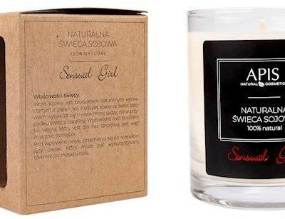 Apis Professional Naturalna zapachowa świeca sojowa Sensual Girl
