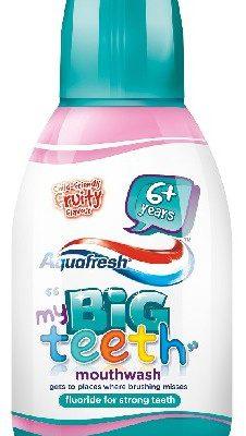 Aquafresh Aquafresh My Big Teeth Płyn do płukania dla dzieci 6+ Fruity 300ml 607499
