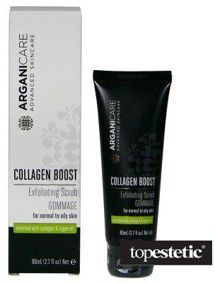 Arganicare Arganicare Collagen Boost Exfoliating Scrub Gommage Peeling 80 ml