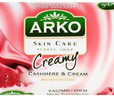 Arko SUNCO Mydło kosmetyczne Skin Care Kaszmir i krem 90 g
