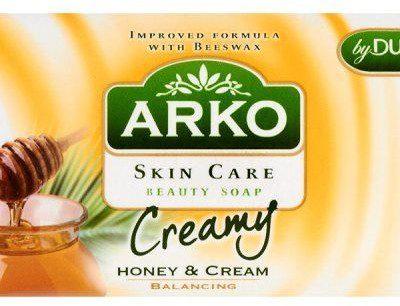 Arko SUNCO Mydło kosmetyczne Skin Care Miód i krem Równoważące 90 g