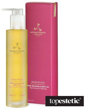 Aromatherapy Associates Aromatherapy Associates Renewing Rose Massage & Body Oil Luksusowy odżywczy olejek do ciała z róży 100 ml