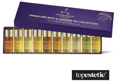 Aromatherapy Associates Miniature Bath & Shower Oils Collection ZESTAW Kolekcja 10 mini-olejków do kąpieli i pod prysznic 10 x 3 ml