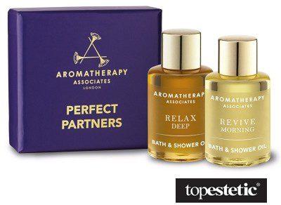 Aromatherapy Associates Perfect Partners Zestaw dwóch olejków do kąpieli 2 x 7,5 ml