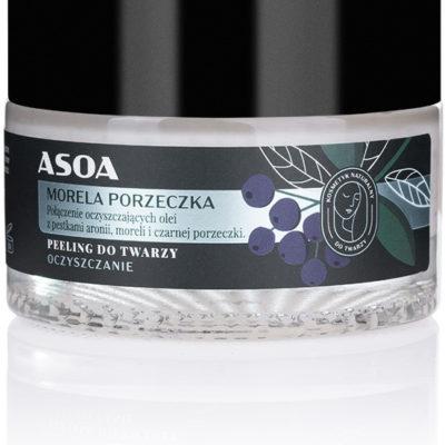 Asoa Peeling do twarzy - Naturalne oczyszczenie Morela-Porzeczka 5906660449423