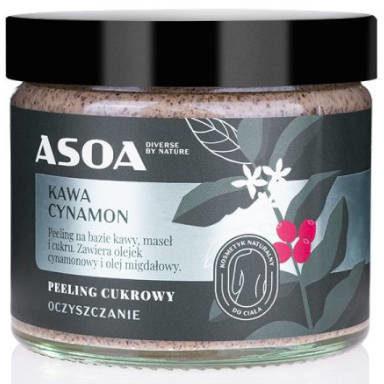 ASOA Peeling Kawowo-cukrowy 250ml