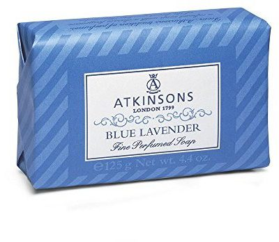 Atkinsons atkinsons Blue mydła Lavender, 125G 8000600001805