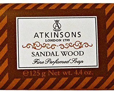 Atkinsons atkinsons Sandal Wood mydła, 125G 8000600001904