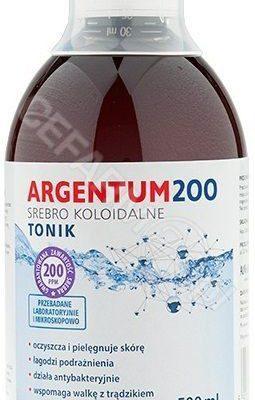 AURA HERBALS Aura Herbals Argentum 200 Srebro Koloidalne 200 ppm 500 ml tonik
