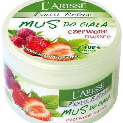 Ava Labolatorium Laboratorium Laboratorium Larisse Frutti Relax Mus Do Ciała Czerwone Owoce Nawilżenie & Odżywienie 250g