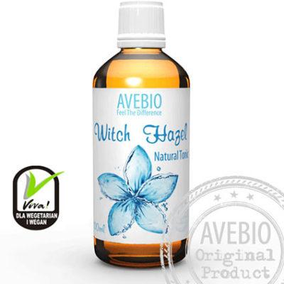 Avebio Naturalny Tonik oczarowy - Witch Hazel 100ml