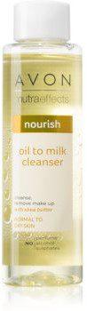 Avon Avon Nutra Effects Nourish olejek odżywczo-oczyszczający do skóry normalnej i suchej 125ml