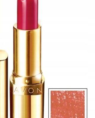 Avon avon_Luxe Powiększająca szminka - Apricot Shimmer