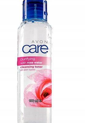 Avon Oczyszczająco-Tonizująca Woda Różana A&k