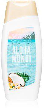Avon Senses Aloha Monoi kremowy żel pod prysznic 250 ml